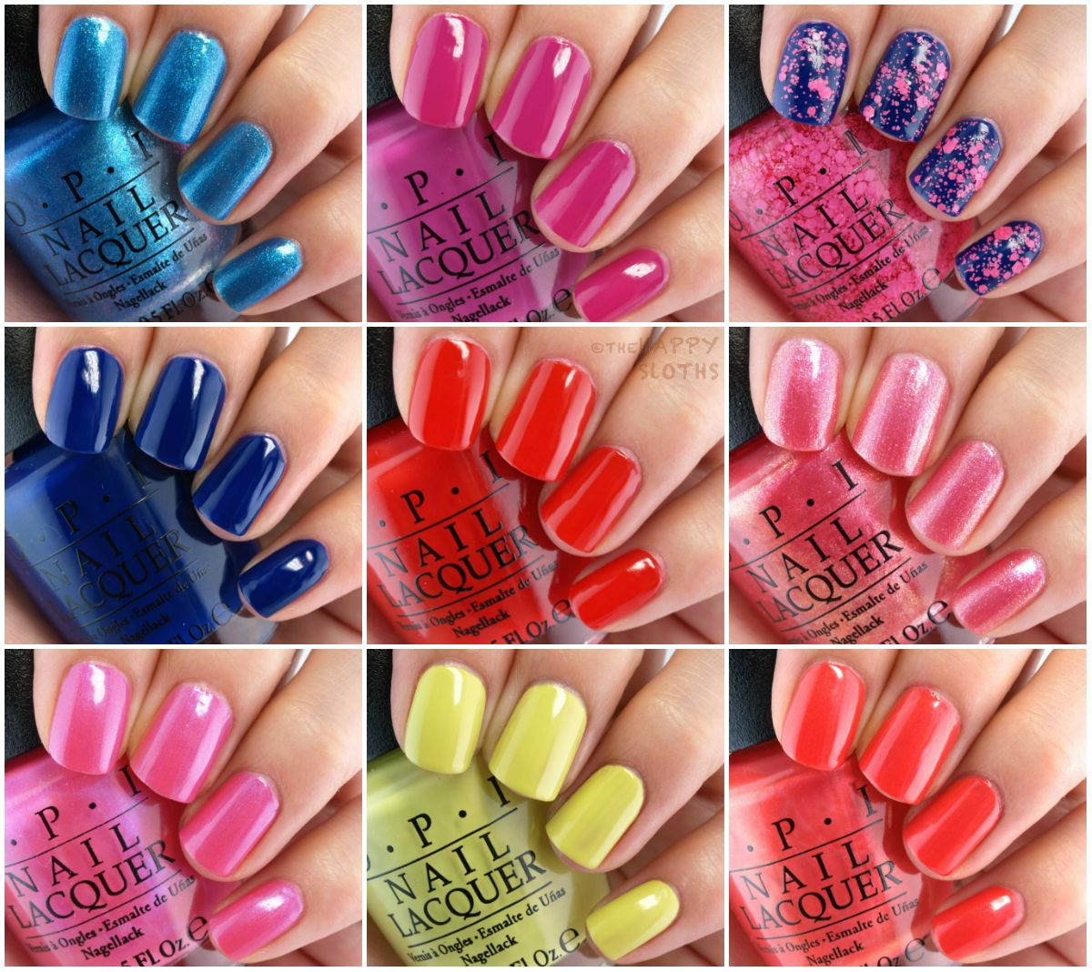 OPI Brights 2015 Summer Collection: Review and Swatches | Summer ...
