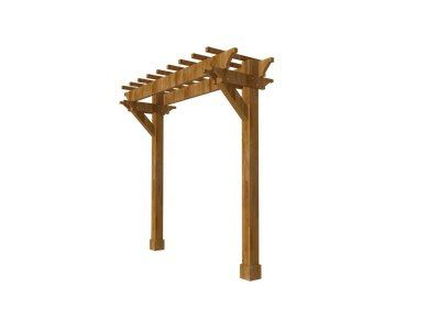 single post pergola kits