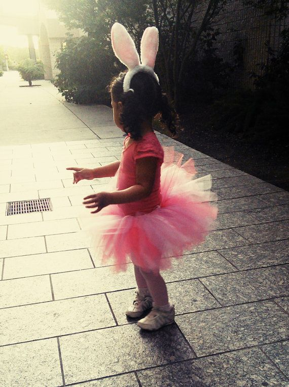 cd6417b56d Fluffy Bunny Tutu Costume with ears and tail by LilSweetPeaTutus, $34.99