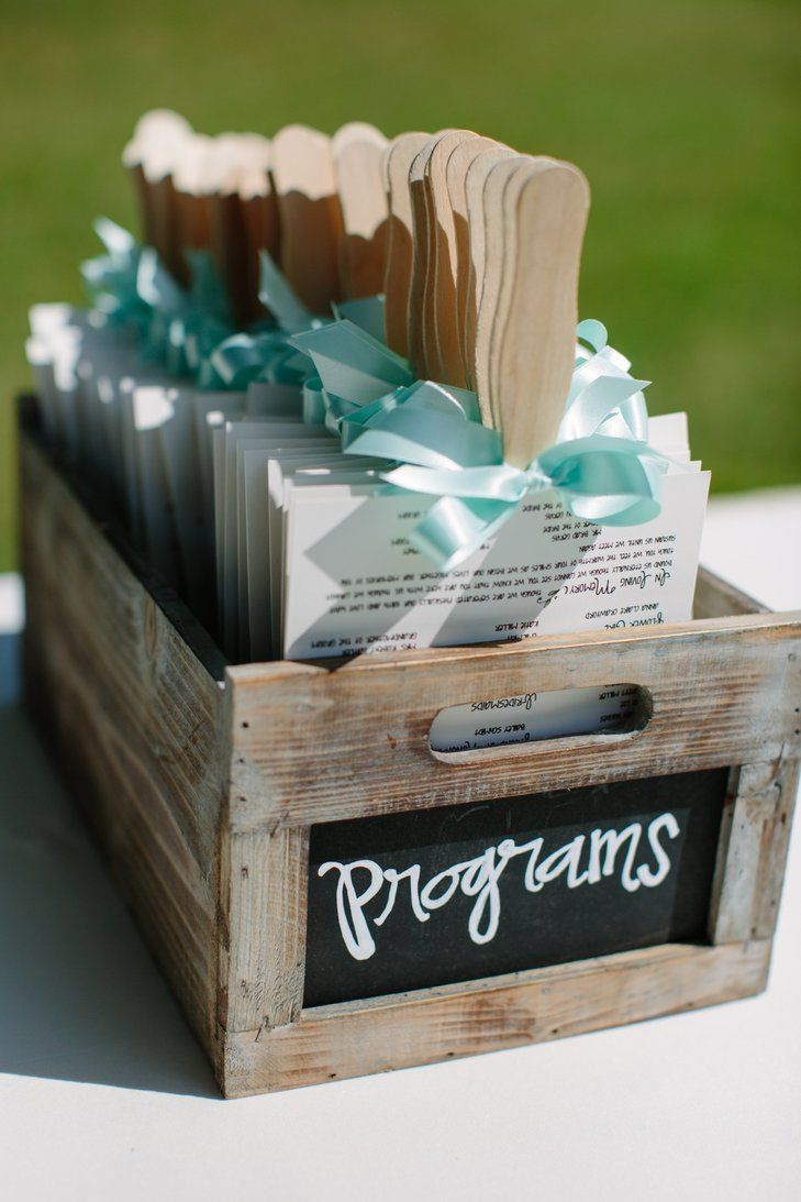 Fan wedding programs wedding ideas pinterest fan wedding