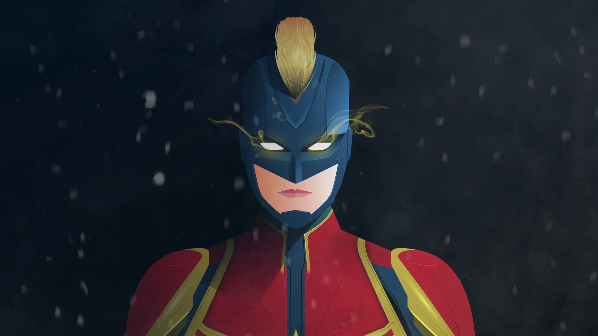Captain Marvel Digital Artwork 4k Wallpaper Superheroes Wallpapers