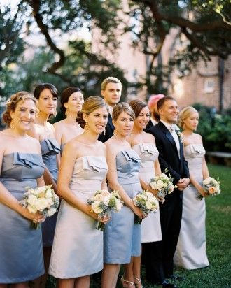 See The Shades Of Gray In Our Gallery Rose Bridesmaid Dresses Wedding