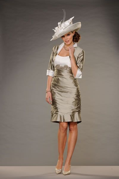 Wedding Mother Of The Bride Hats With Kids Dresses Country Chic