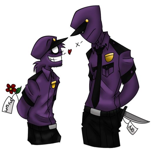 Yes People Are Now Believing That There Are 2 Purple Guys But Guess What They Are Both Killers Purple Guy Vincent Fnaf Anime Fnaf
