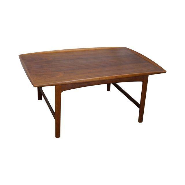Fulke Ohlsson For Dux Danish Teak Coffee Table 1 195 Coffee Table Teak Coffee Table Table