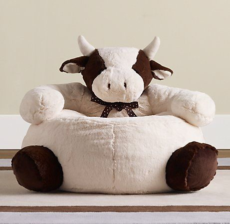 Cuddle Plush Cow Chair