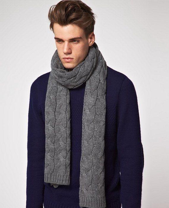 dfc5ed37ee0 Мужские шарфы 2018-2019 года модные тенденции (78 фото)  брендовые шарфы  осень-зима