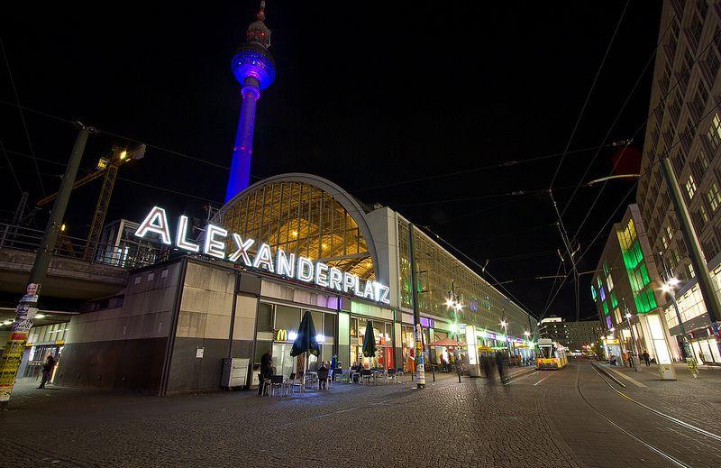 Bahnhof Alexanderplatz Berlin Explore Photo