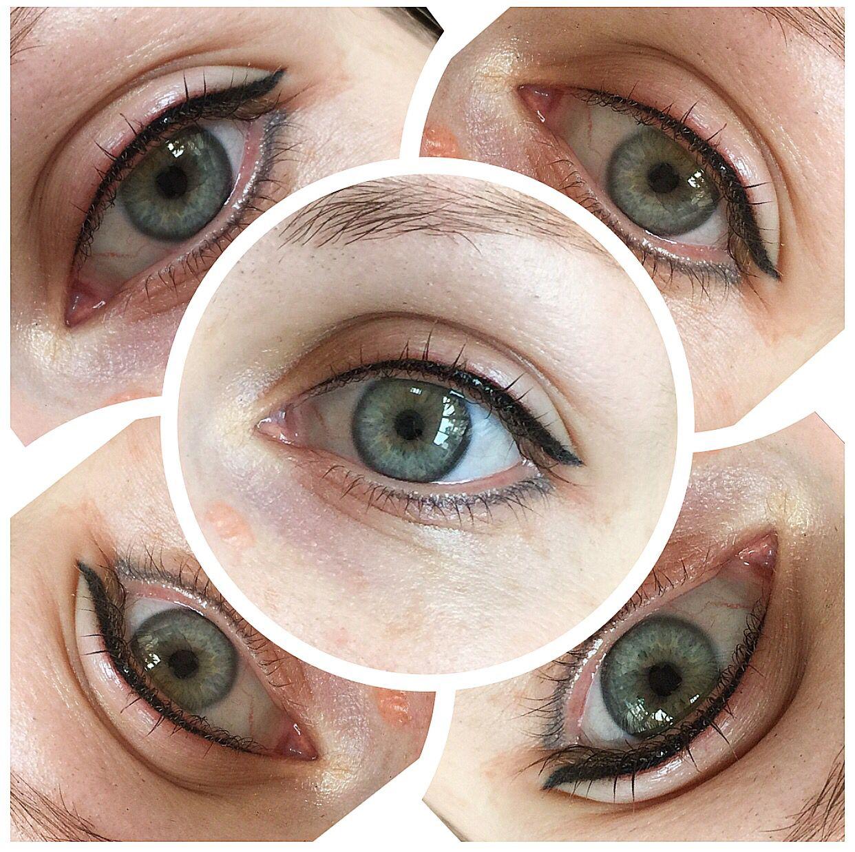 Semi permanent Eyeliner Hair and Makeup Pinterest