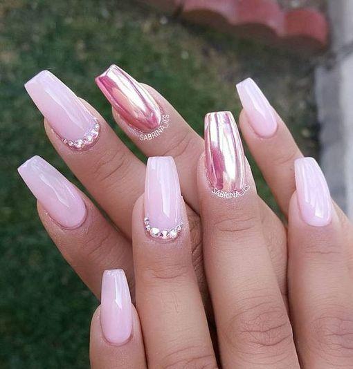 Cute Acrylic Nails Art Design 44 The Beauty Of Nails