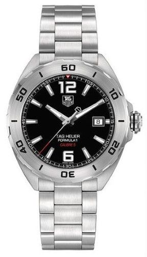 516b3f6a365 Tag Heuer Formula 1 Automatic Black Dial Stainless Steel Men s Watch  WAZ2113BA0875