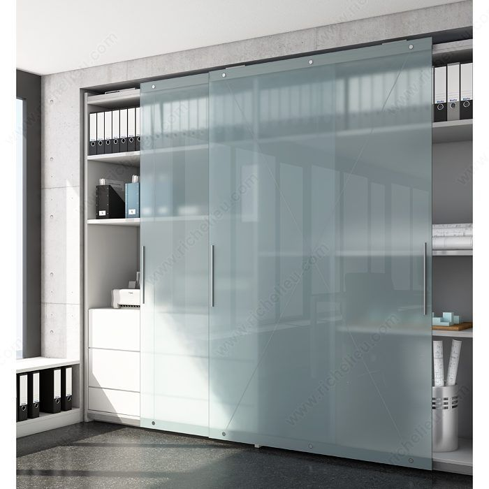 Versatile System With Heavy Duty Mechanism For Large Cabinet Doors