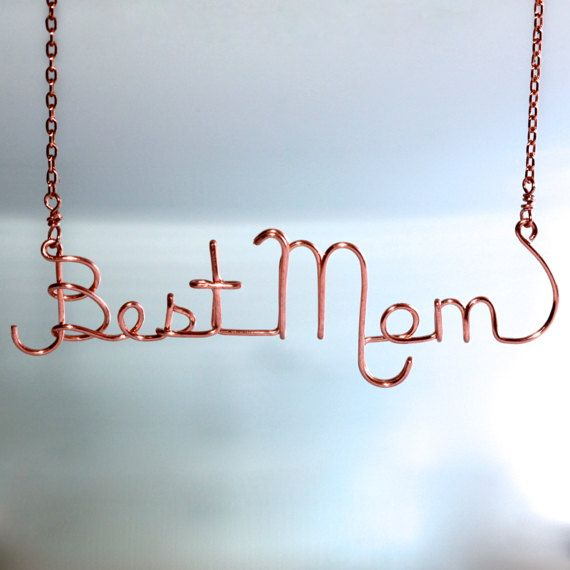 Mother Gift * Gift for Mom * Gift for Mother * Best Mom * Wire Name ...