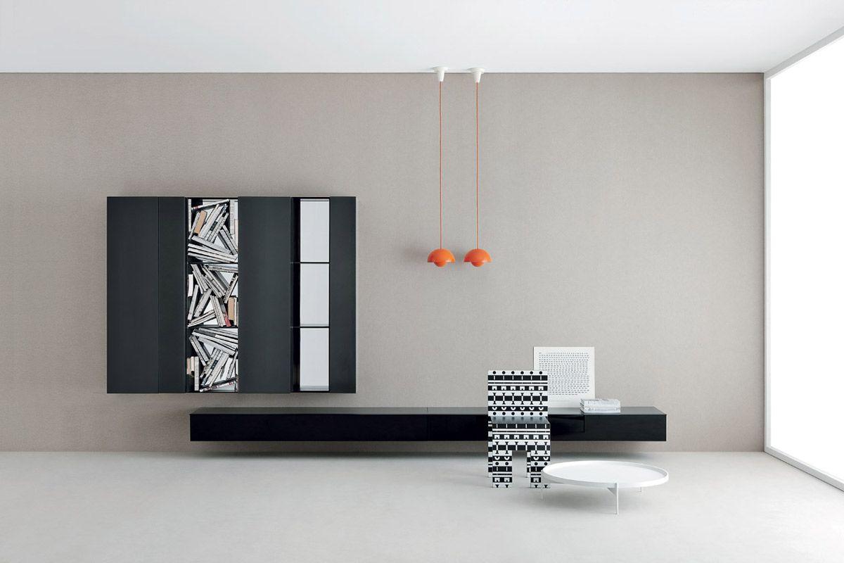 sistema modulare | librerie | modello Spazio Moduli | Pianca design ...