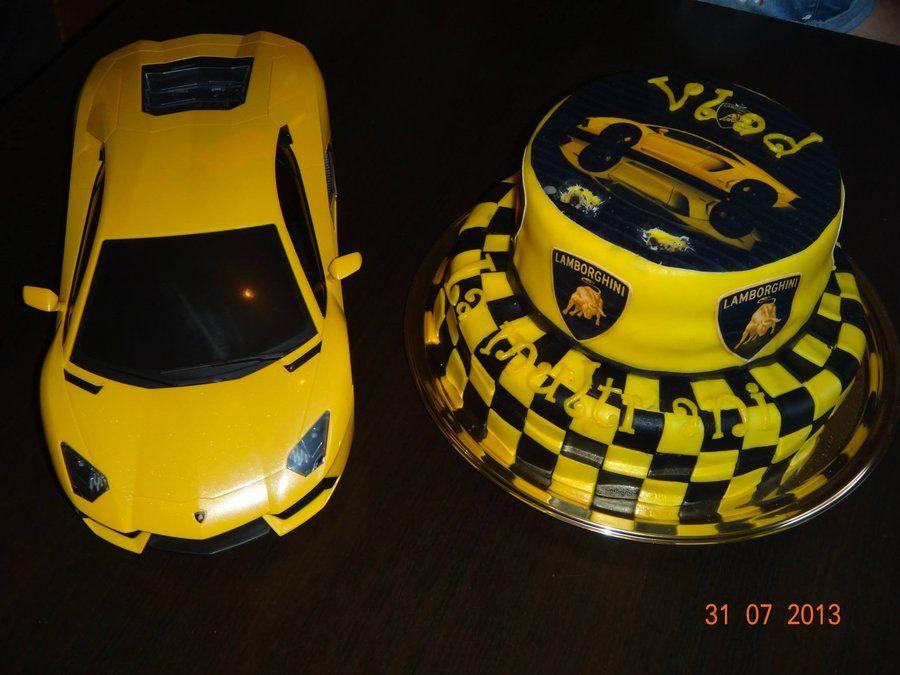 Lamborghini Themed Cake Unique Cakes 4every Occasion
