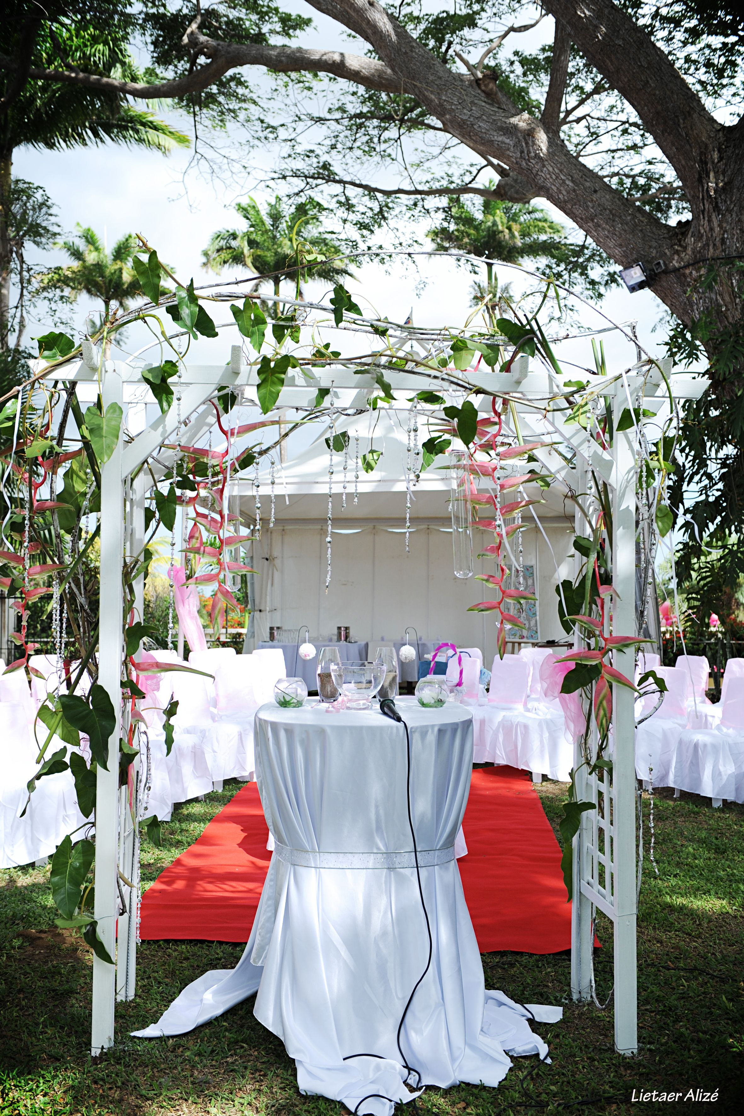 Decoration Mariage Guadeloupe Mariage Wedd 39in Gwada Jardin Tropical Guadeloupe Photo