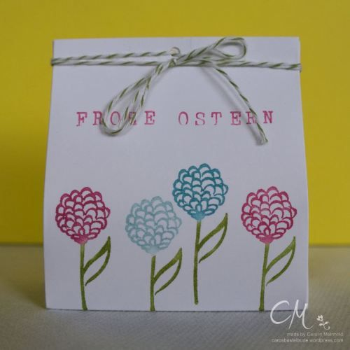 Caros Bastelbude: Stampingirls Smart Saturday: Ostergrüße, Natures Perfection, Stampin' Up!