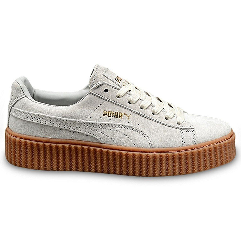 Puma Femme X Rihanna Creeper Sneakers, Beige (Marron), 42.5