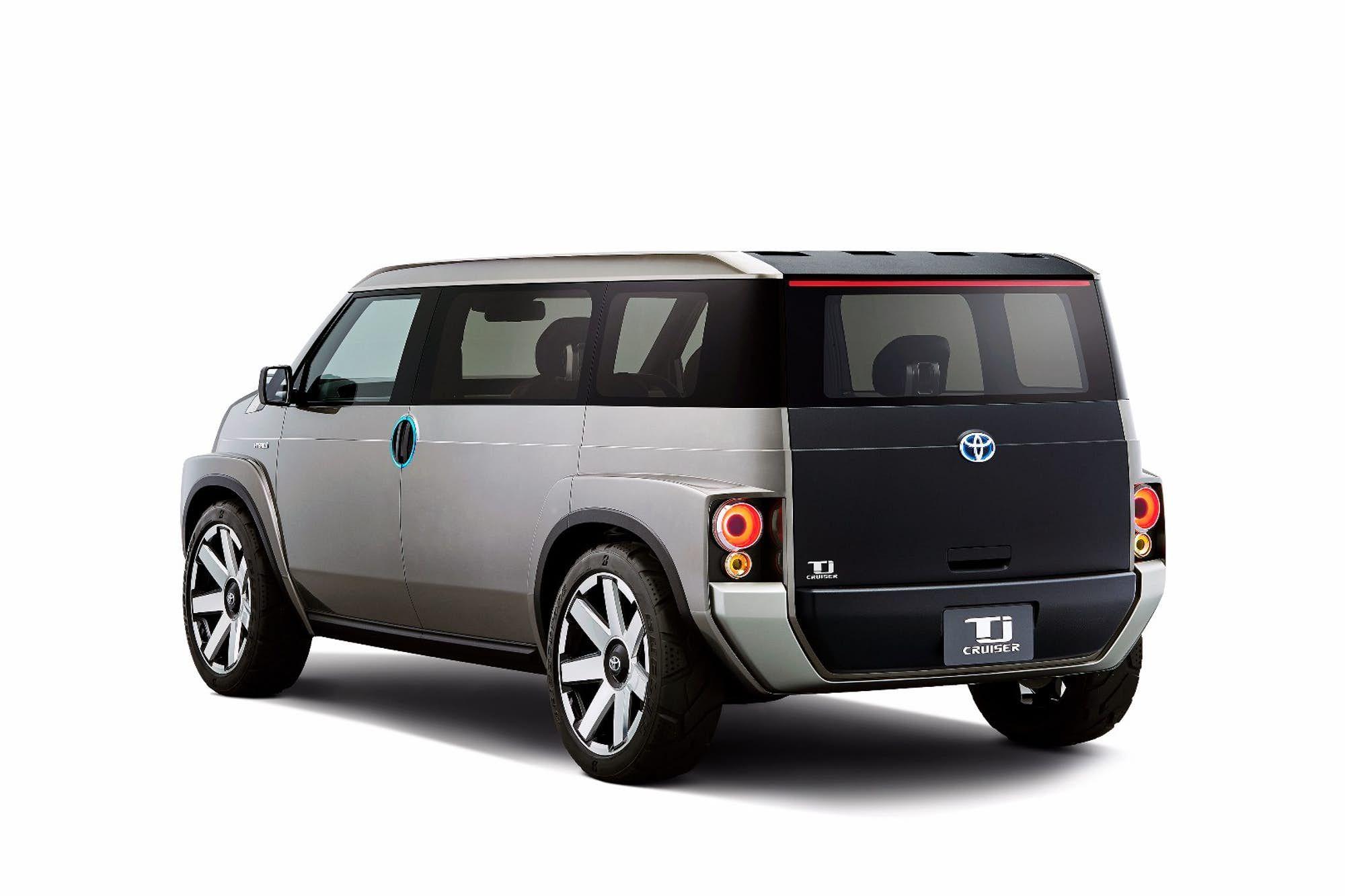 9757dc0eb5eaa6 Toyota Tj Cruiser concept – roomy SUV or tough van