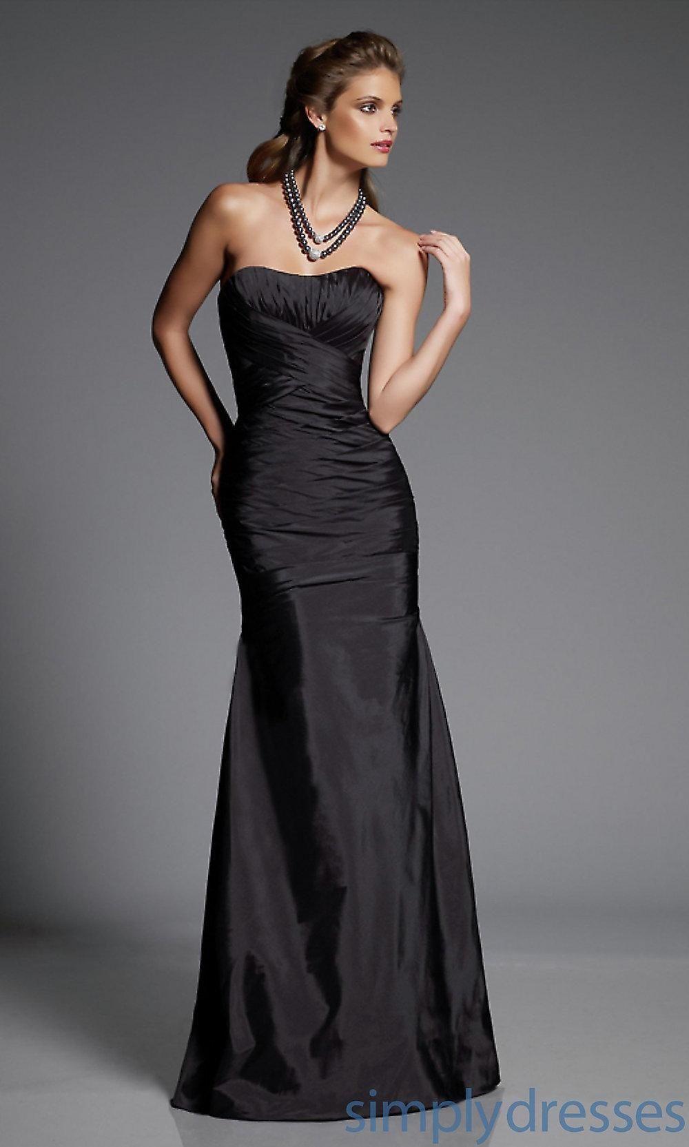 Strapless Silk Taffeta Bridesmaid Dress By Mori Lee Brought To You Avarsha