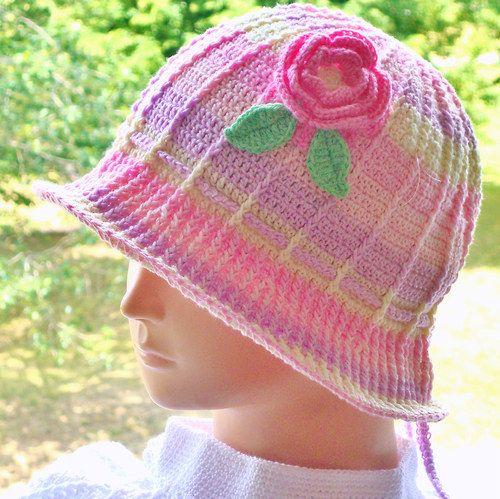 50f7b1ca3ca Letní háčkovaný klobouček   Zboží prodejce Stanisla