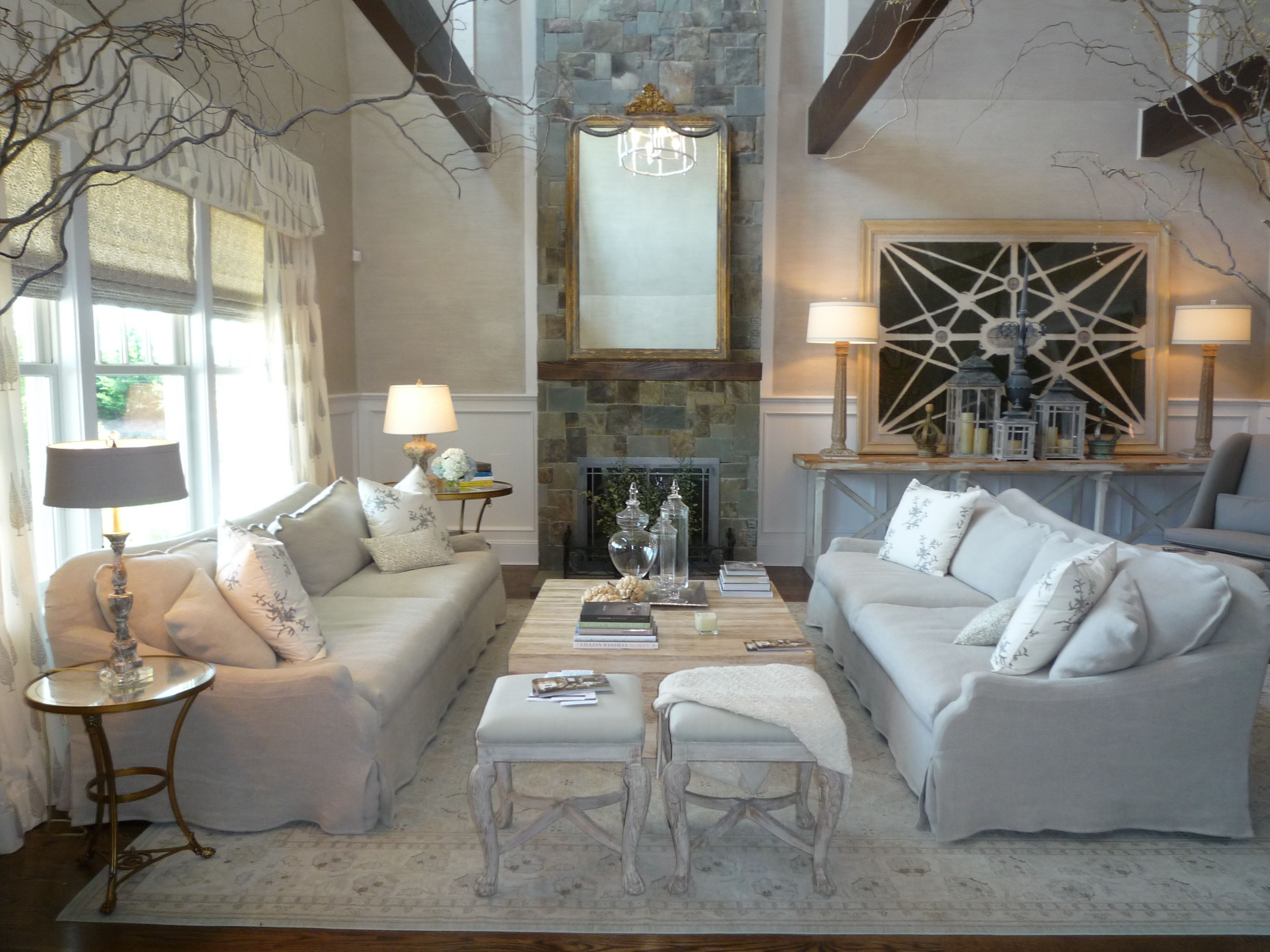 Divine Design Living Room | Found The Living Room Decorated By A Team From  Lillian August To Be .