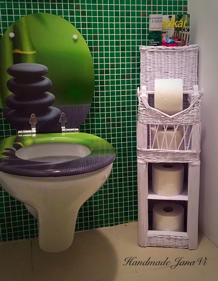 42a6b45c3 Zásobník na toaletný papier | Pletenie z papiera