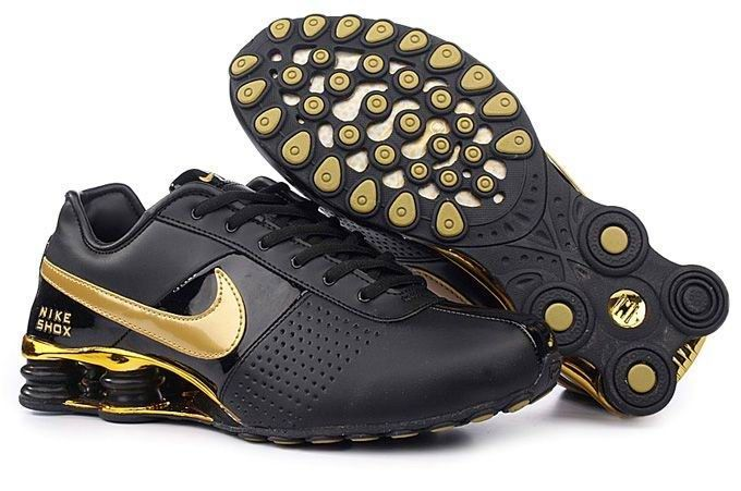 fff970a1413516 Nike Shox OZ Black And Gold