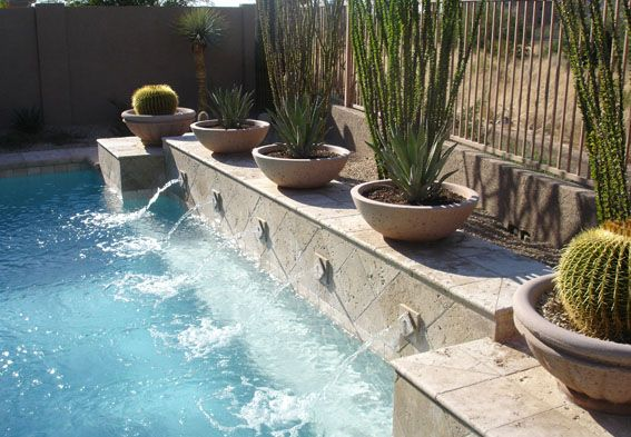 Swimming Pool Water Feature Designs Swimming Pool