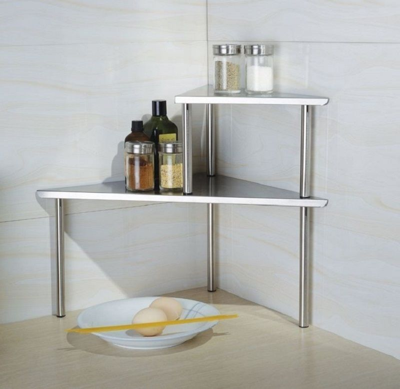 Astonishing Kitchen Corner Shelf Storage Rack Organizer Spices Cabinet Home Remodeling Inspirations Genioncuboardxyz