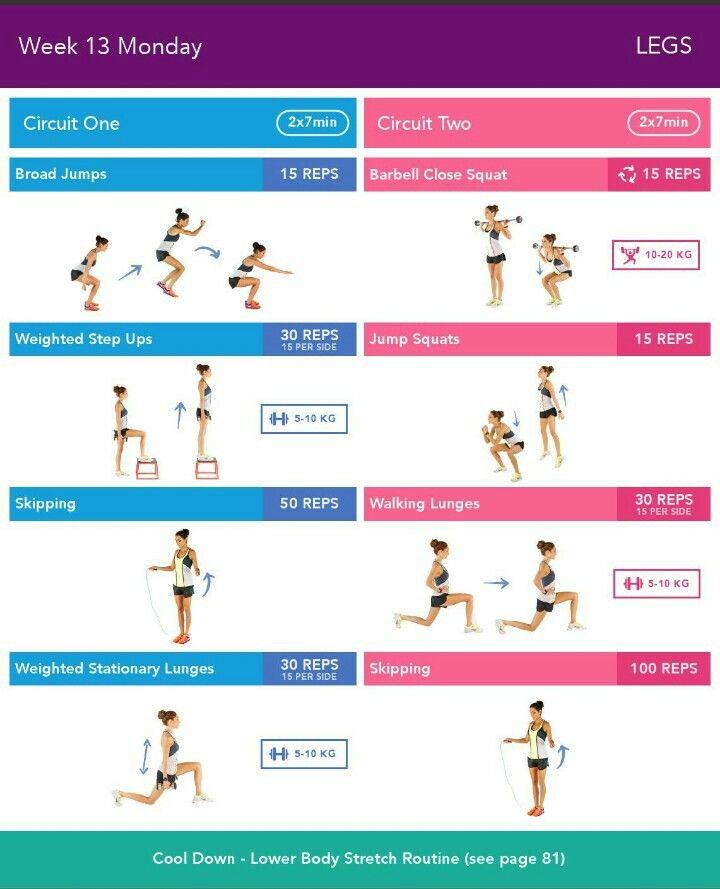 bbg workout 2.0 pdf