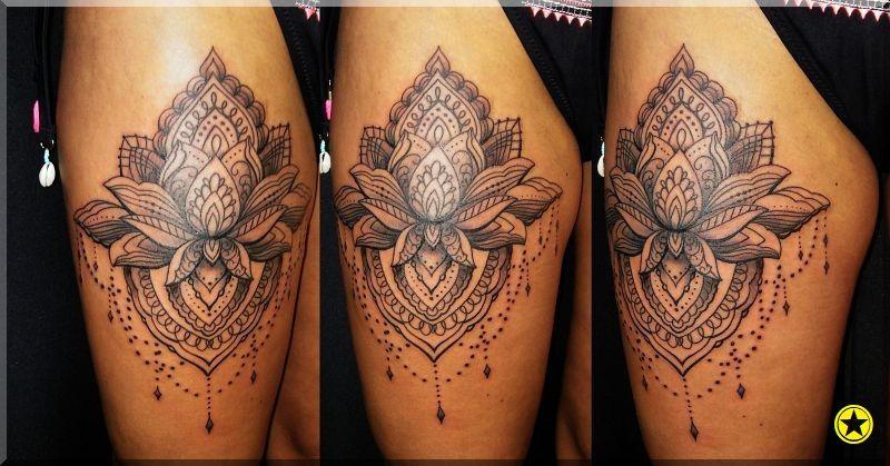Kwiat Lotosu Tatuaż Tatuaże Tattoos
