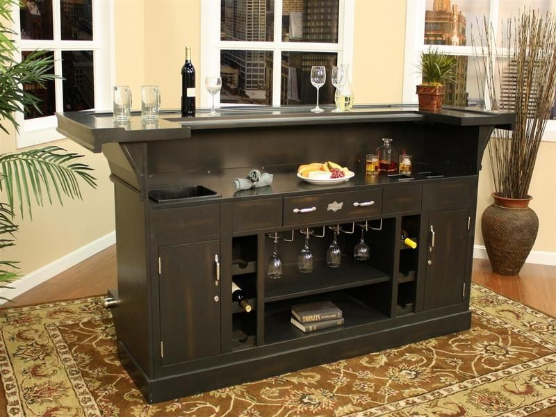 Genial Black Sweet Bar Furniture For Home