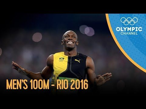 Men's 100m Final   Rio 2016 Replay - YouTube