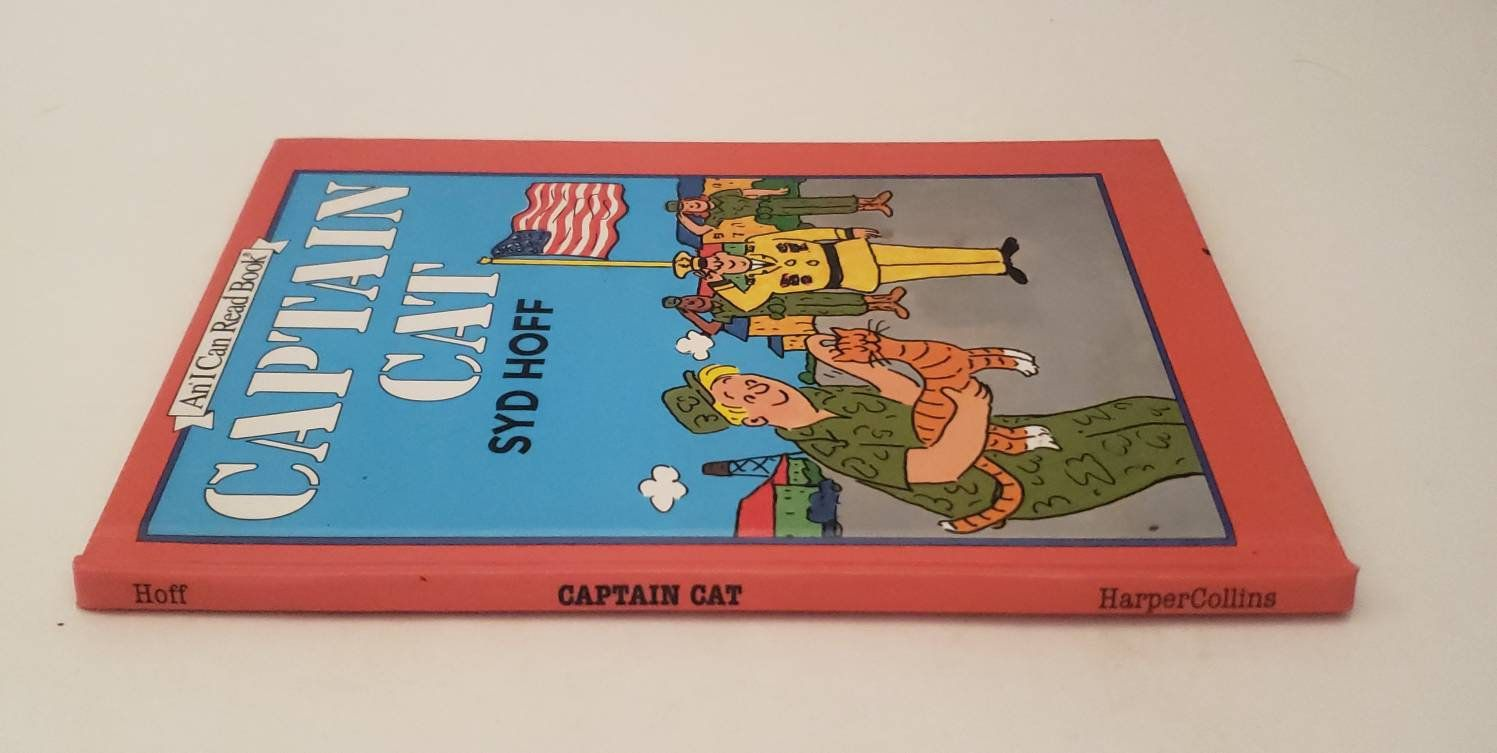 Captain Cat An I Can Read Book by Syd Hoff 1993 by