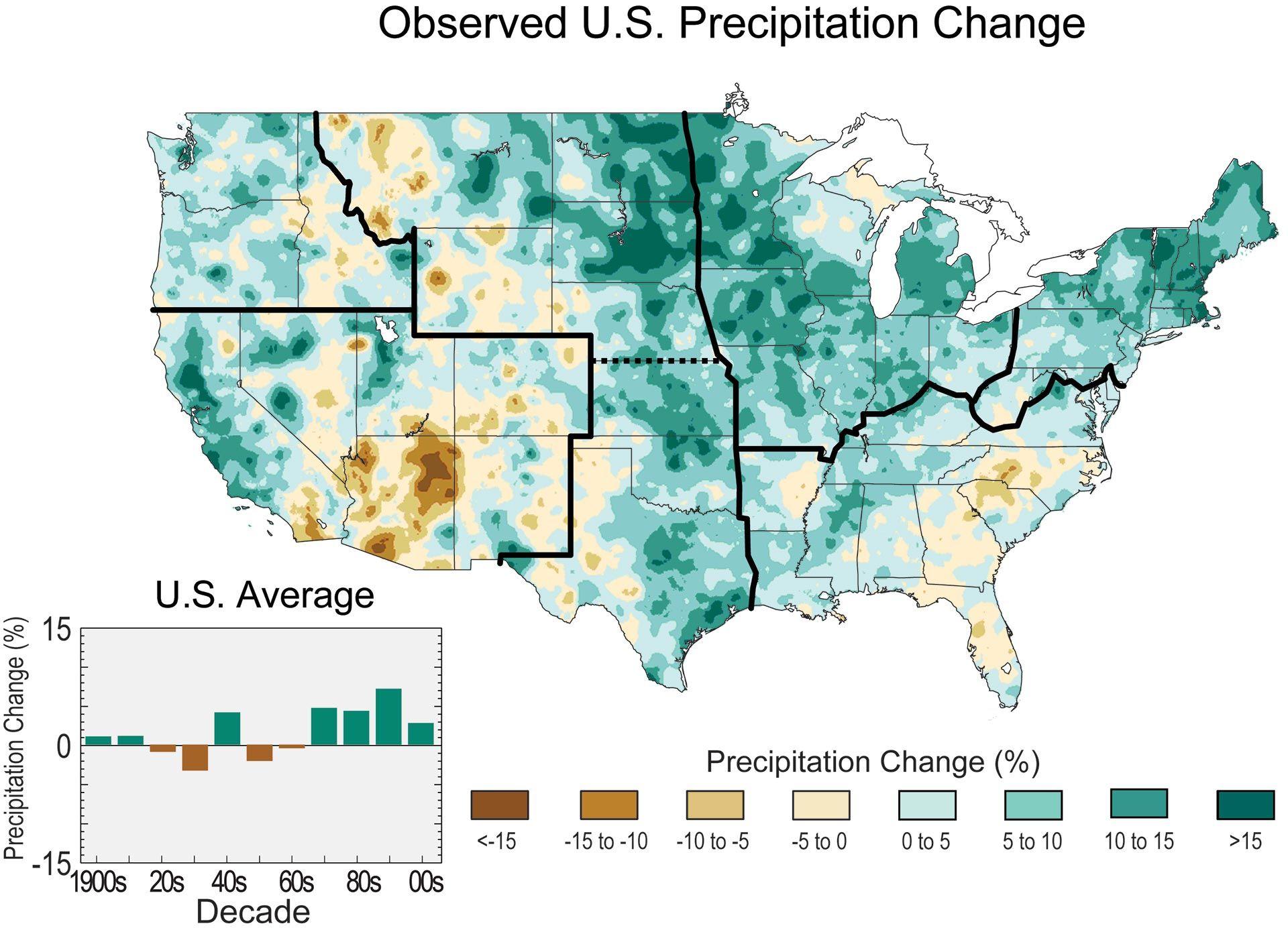 Observed U.S. Precipitation Change | United States Global ...