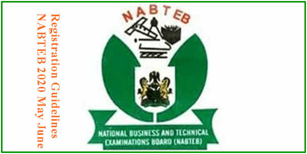 2021 2022 May June Nabteb Registration Form And Examination Date Registration Form Registration Bio Data