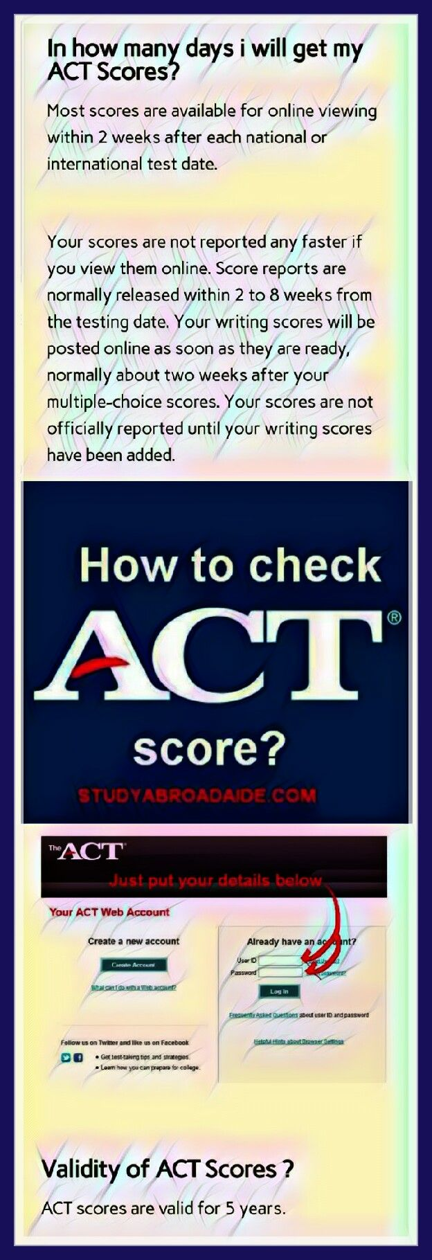 Pin on ACT American College Testing