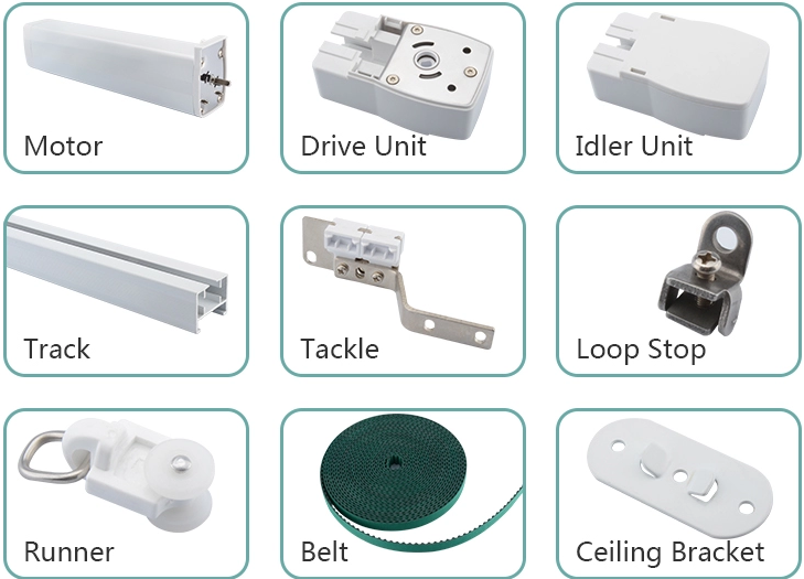 Most Customers Choose Curtain Motor Which Is Built In Wifi Tuya