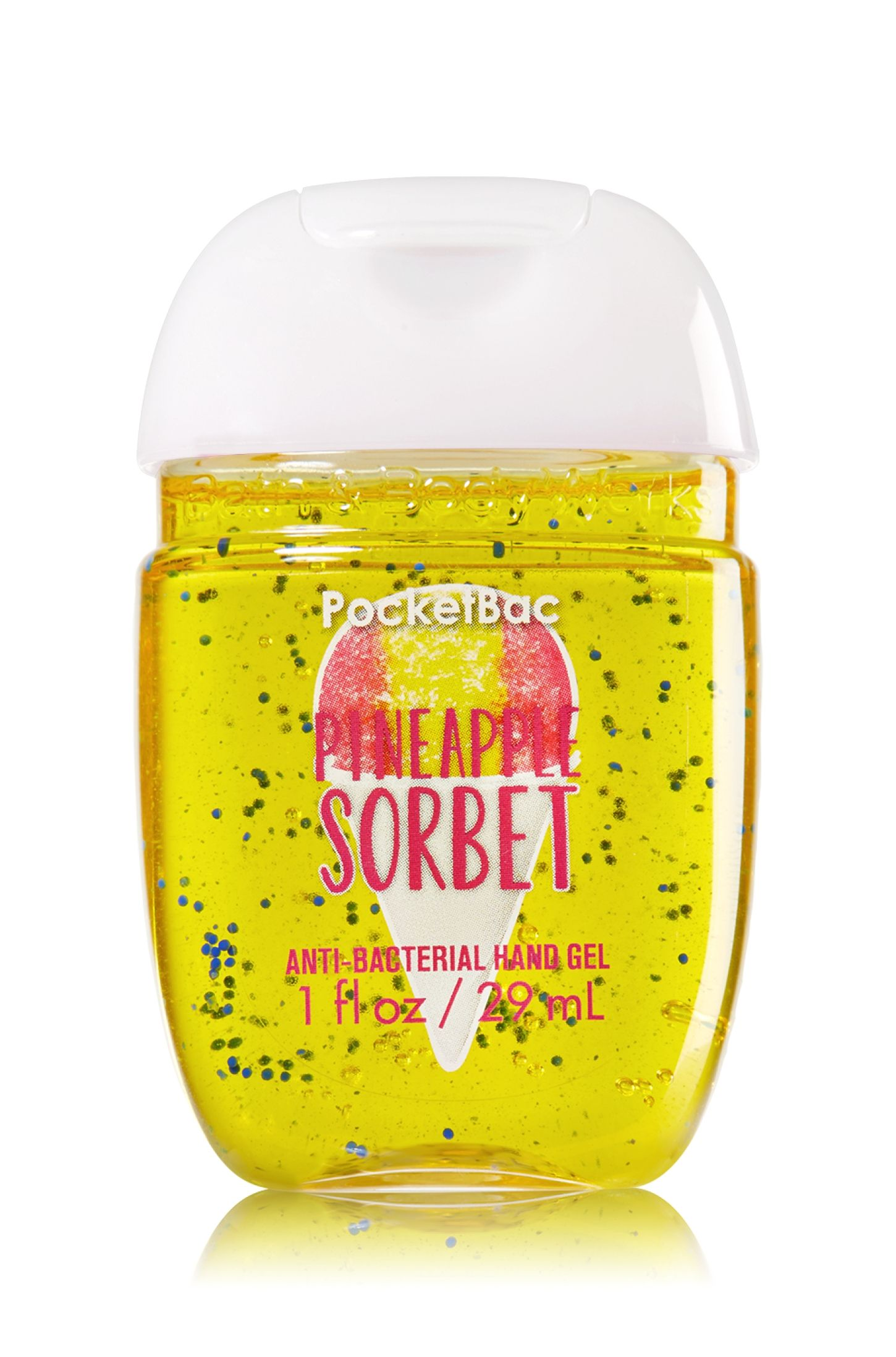 Bath Body Works Pineapple Sorbet Pocketbac Sanitizing Hand Gel