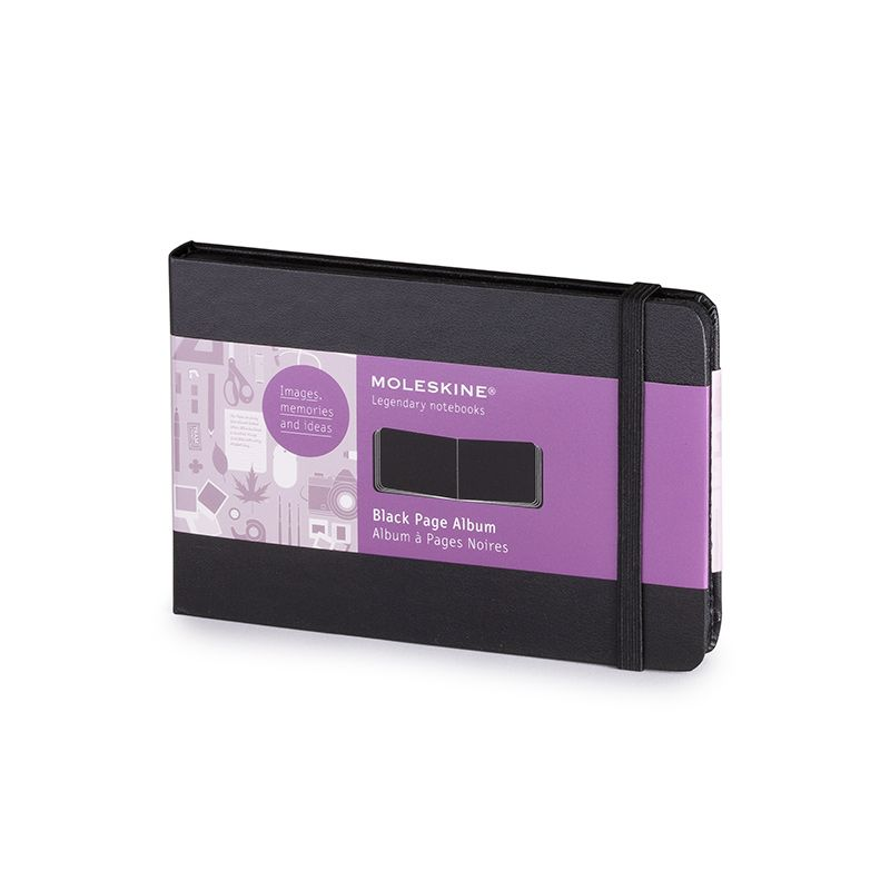 Moleskine Pocket Black Page Album 3 5 X 5 5 Moleskine