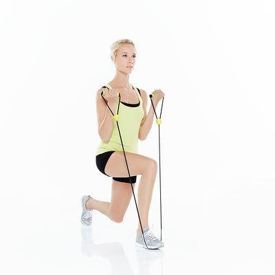 Nattes Et Accessoires Yoga Fitness Gym Danse Resistance Tube Domyos Materiel Fitness