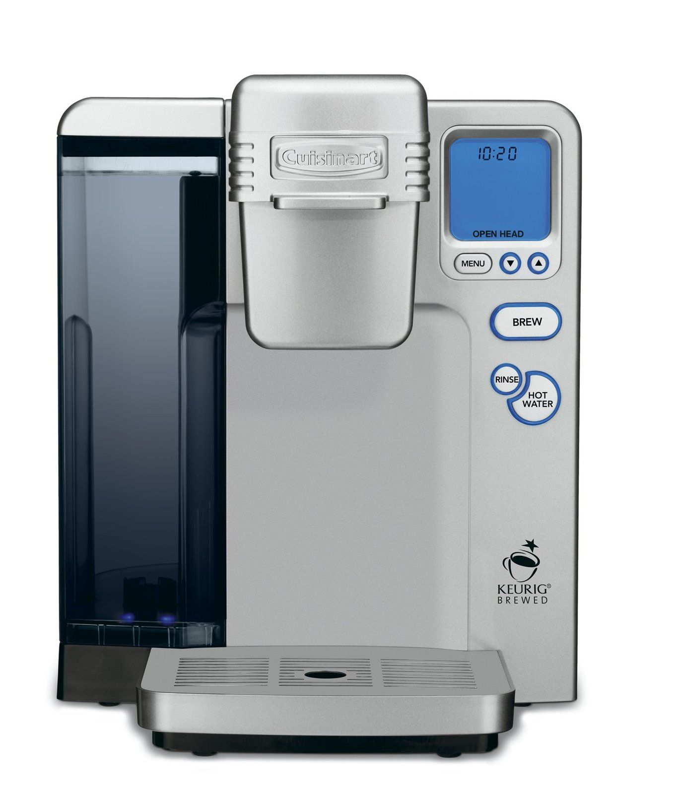 Single Serve Brewing System, Silver