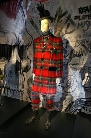 Jean Paul Gaultier Exhibit - Dallas Museum of Art - I went to see this exhibit with a friend.