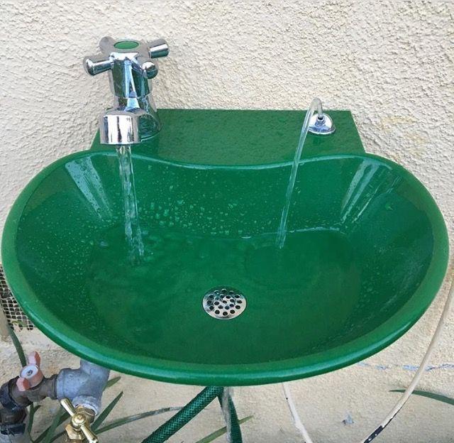 My new garden faucet & drinking fountain | Garden ...