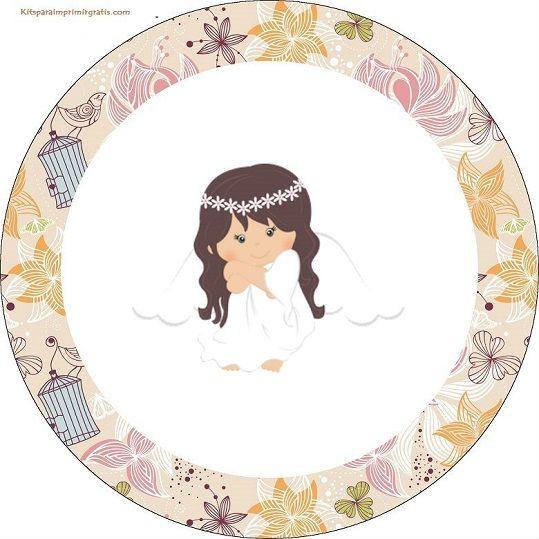 Angelita en Jardín Vintage: Mini Kit para Fiesta de ...