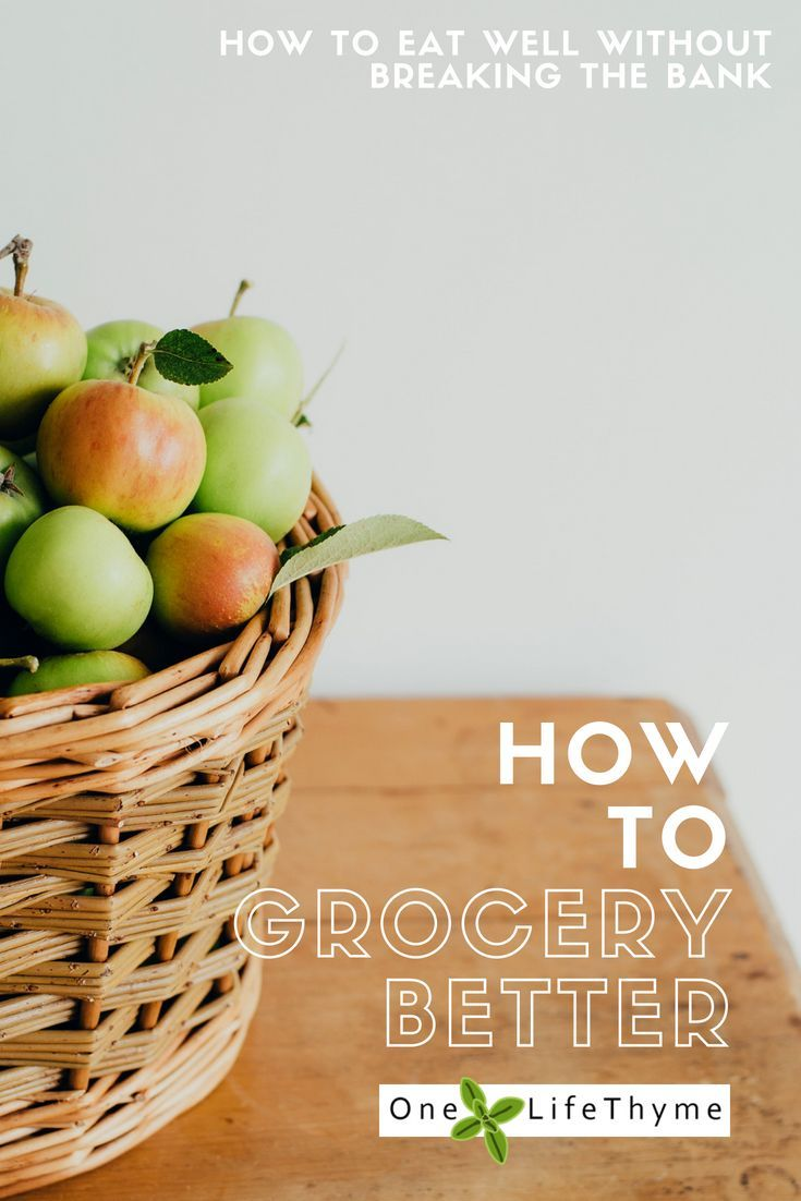 How to Eat well without breaking the bank   #food #grocery #shopping #budget #family
