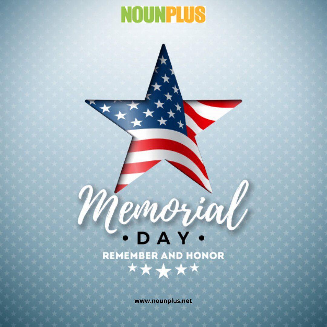 Memorial Day In 2020 Memorial Day Design Template American Flag