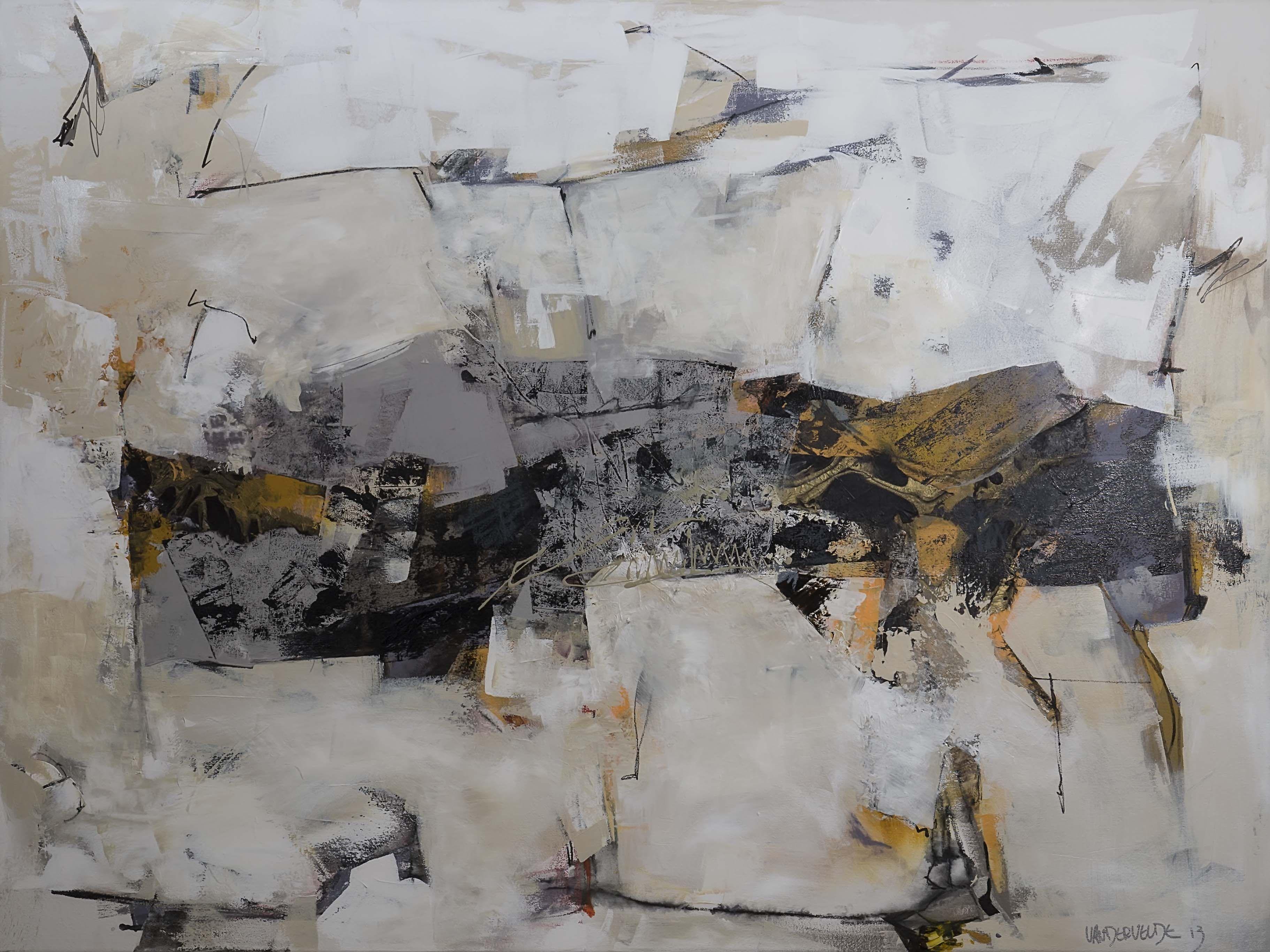 Paintings Of Urban Spaces - Ann Vandervelde Artist Seattle Wa Abstract Art Painting