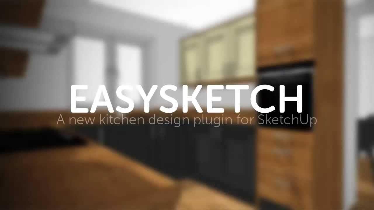 Easysketch Kitchen Design Plugin For Sketchup Decorative Accessories 82878668 Kitchen Decor Inspiration Kit Kitchen Design New Kitchen Designs Sketches Easy